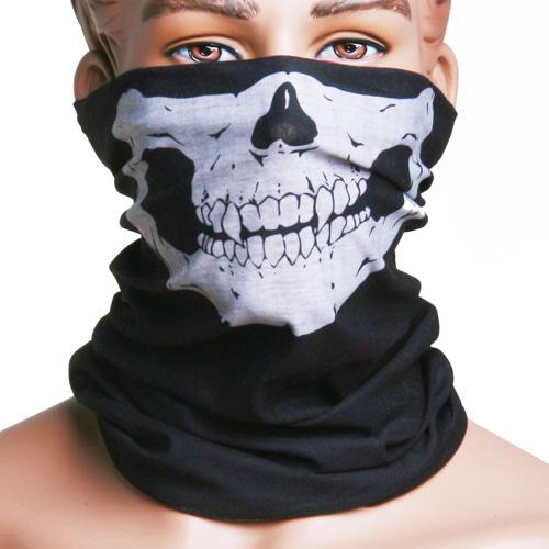 Череп Многофункциональный головной убор Шапка Шарф для лица Маска мотоцикл Кепка