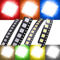 LED 0.2W 5050 SMD RGB PLCC-6 60mA Light SMT Ultra Brillant DIY 3.0-3.6V