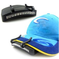 11 LED Clip-On Cap Light Lamp Hiking Camping Fishing Outdoor Cap Lights