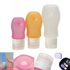 Travel Portable Silicone Lotion Shampoo Suction Cream Container Bottle