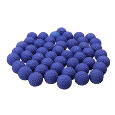 50Pcs Blue Round Replace Ball For Nerf Rival Apollo Zeus Toys