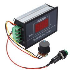 DC 6-60V 30A Speed PWM Controller Adjustable Motor Controller with Digital Display