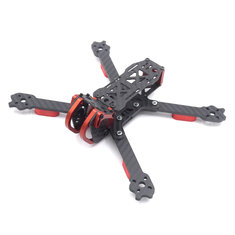 LEACO FNC230 230mm Wheelbase 4mm Arm Long X Structure Carbon Fiber FPV Racing Frame Kit