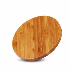 Qi Wireless Charger Charging Slim Wood Pad Mat For Samsung Qi Enabled Phones