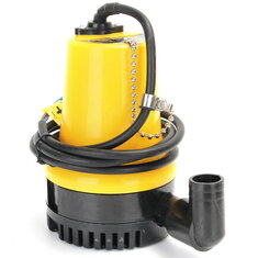 12V 1110GPH 6000L/H Submersible Water Pump Clean Clear Dirty Pool Pond Flood
