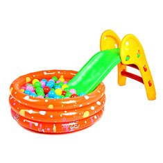 Infant Folding Small Slippery Slide Up And Down Like Folding Single Slide Slippery Slide Toy