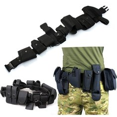 10 in 1 Sports Tactical Belt Racing Hiking Military Outdoor Games 800D Nylon belts