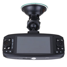 F80 HD 2.7 Inch Dual Lens Rotating Car DVR Vehicle Video Recorder Camera Dash G-Sensor