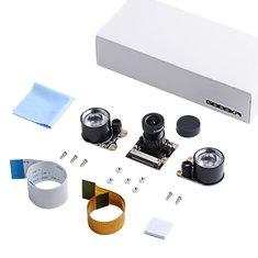 Night Vision 5 Megapixel OV5647 Sensor Camera Adjustable-focus Module With Infrared Light Sensorfor Raspberry Pi 3B/3B+