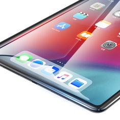 Baseus Clear/Anti Blue Light Tempered Glass Screen Protector For iPad Pro 12.9 Inch 2018 Fingerprint Resistant Film