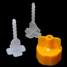 100pcs Ceramic Tile Leveling Tool Garden Floor Wall Tile Spacers Accessories