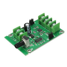3Pcs 5V-12V DC Brushless Motor Driver Board Controller For Hard Drive Motor 3/4 Wire