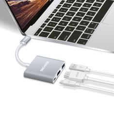 Onechoice Multifunctional Type-C to USB 3.0 4K HDMI Type-C USB Hub PD2.0 Charging Converter Adapter