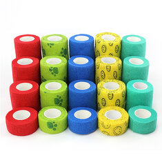 Colorful Self-Adhesive Sport Pet Support Elastic Bandage Finger Joint Wrap Injury Tape