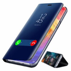 c3d5adf5d2 Bakeey™ Plating Mirror Window Shockproof Flip Full Cover Protective Case  for Xiaomi Redmi Note 7