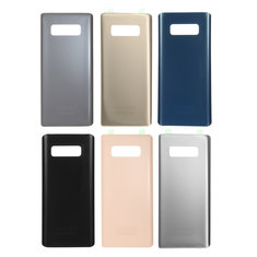 Back Glass Battery Cover With Camera Lens Frame for Samsung Galaxy Note 8