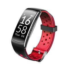 Bakeey Q8 0.96inch OLED 24 hours Real Time Heart Rate Monitor IP68 Waterproof Smart Bracelet