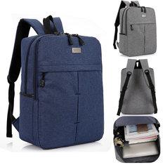 Waterproof Laptop Notebook Backpack Travel PC Casual Shoulder Bags