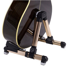 Aroma AGS-08 Foldable Metal Stand For Guitar Ukulele Violin Coupon d0896c