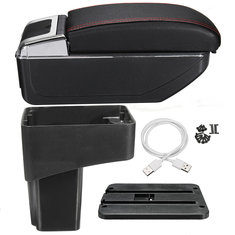 Car Armrest Console Central Console Box Storage Handrails Handrest For Nissan Juke