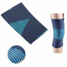 Adjustable Neoprene Blue Knee Brace Support Pad Strap Guard Protector Sports