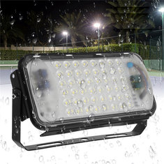50W 48 LED Flood Spot Light Waterproof Outdoor Garden Security Landscape Light AC90-260V
