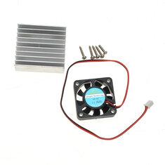 Original Hiland Heat Sink + Cooling Fan + Mounting Screws Kit For 0-30V 0-28V Universal Power Supply