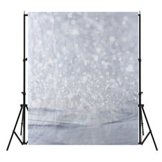 6x6FT Silver Light Shadow Photography Backdrop Studio Prop Background