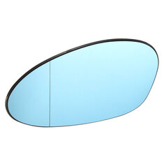 Blue Tinted Electric Left Wing Mirror Glass For BMW M3 E46 Coupe 2001-06