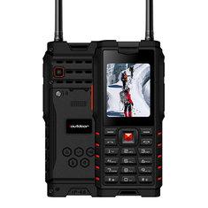 ioutdoor T2 IP68 Waterproof 2.4'' 4500mAh UHF Walkie Talkie bluetooth Dual SIM Card Feature Phone