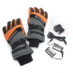 3.7V Winter Warm Heated Electric Heat Inner Motorcycle Motor Bike Outdoor Gloves