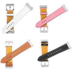 Leather Band Bracelet Watch Wrist Strap Replacement For Fitbit Ionic Fitness Run
