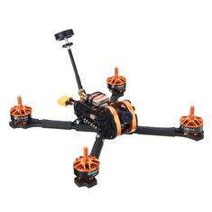 Eachine Tyro99 210mm DIY Version FPV Racing RC Drone F4 OSD 30A BLHeli_S 40CH 600mW VTX 700TVL Cam