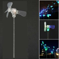 Vertical DIY Project Turbines LED Windmill Small DC Motor Wind Blades Wind Generator