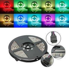 3X 5M RGB Non-Waterproof 300 LED SMD 5050 LED Strip Light DC 12V