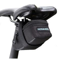 ROSWHEEL Bike Bicycle Cycling Saddle Back Seat Seat Post Tail Pouch Bag