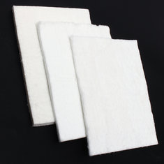 3/6/10mm Aerogel Insulation Hydrophobic Mat Foot Low to High Temp 20x15cm Water Pipe Insulation Mat