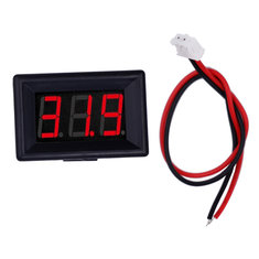 Voltage LED Display 0.36 Inch 2/3 Wires Digital Voltmeter DC 2.4V-30V Panel Volt Meter for Battery Tester RC Drone Car Motorcycle
