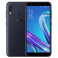 ASUS ZenFone Max (M1) ZB555KL Global Version 5,5 tum HD + 4000mAh Android 8 13MP + 5MP-kameror 3GB RAM 32GB ROM Snapdragon 430 Octa Core 1,4 GHz 4G Smartphone