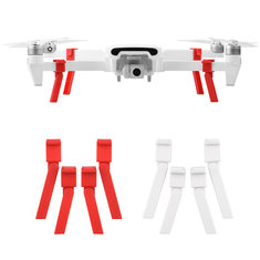 Shock Absorber Landing Gear Extended Heighten Foldable Leg Tripod Red and White for Xiaomi FIMI X8 SE