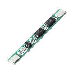 5pcs 1S 3.7V 4A li-ion BMS PCM 18650 Battery Protection Board PCB for 18650 lithium Battery Double MOS
