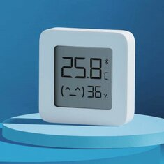 [Newest Version] XIAOMI Mijia Bluetooth Thermometer 2 Wireless Smart Electric Digital Hygrometer Thermometer 1Pcs