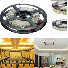 5M Double Row 600 SMD 5050 Non-Waterproof 12V LED Strip Light