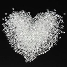 2000шт очистить таблицу разброса кристаллов алмазов свадебные украшения