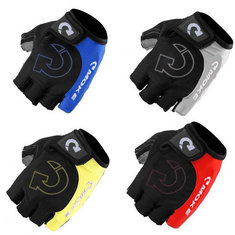 Outdoor bike Cycling Half Finger Gloves GEL Silicone Cycling Gloves
