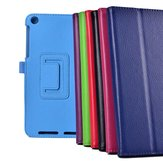 Lichee Pattern PU Leather Case Folding Stand Cover For Asus 181