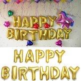 16 inch gouden folie alfabet ballonnen brieven gelukkige verjaardag feest decor