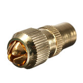 Male TV Aerial Connector - RF Coax Cable Plug Freeview Coaxial