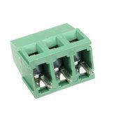Excellway® DR22 10pcs 5,0 mm 2/3 pinos conectores de bloco de terminais de parafuso PCB