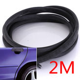 2M Moulding Trim Strip Car Door Scratch Protector Edge Cover Styling